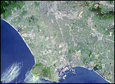 Los Angeles - NASA's Terra Satellite