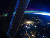 Moscow at night - NASA March 28, 2012