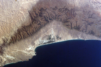 The city of Salalah, Oman - NASA 2004