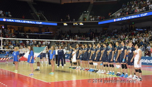 Iran Vs Us Volleyball at the Galen Center - USC (August 9, 2014), by QH
