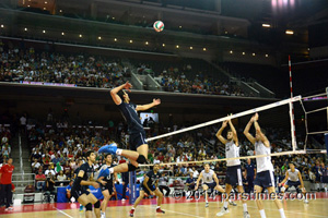US-Iran Volleyball Diplomacy - USC (August 9, 2014)