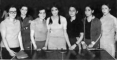 Women's Table Tennis Team