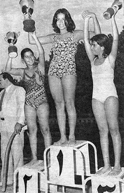Girls Swimming Competition