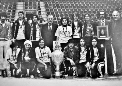 IRANA & Ararat Women's Basketball Teams - Tehran