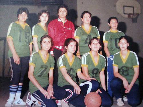 Girls Basketball Team - Tehran