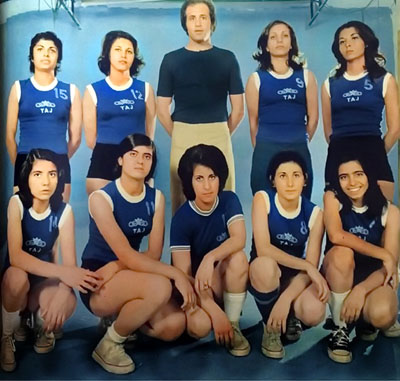 Women's Basketball Team, Taj Club - Tehran