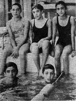From left to right: Tonia Valioghli, Linda Firouzabadian, Haleh Vafaei