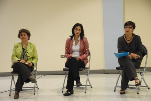 Dr. Azadeh Kian & Dr. Mary Hegland - UCLA (October 25, 2009) by QH