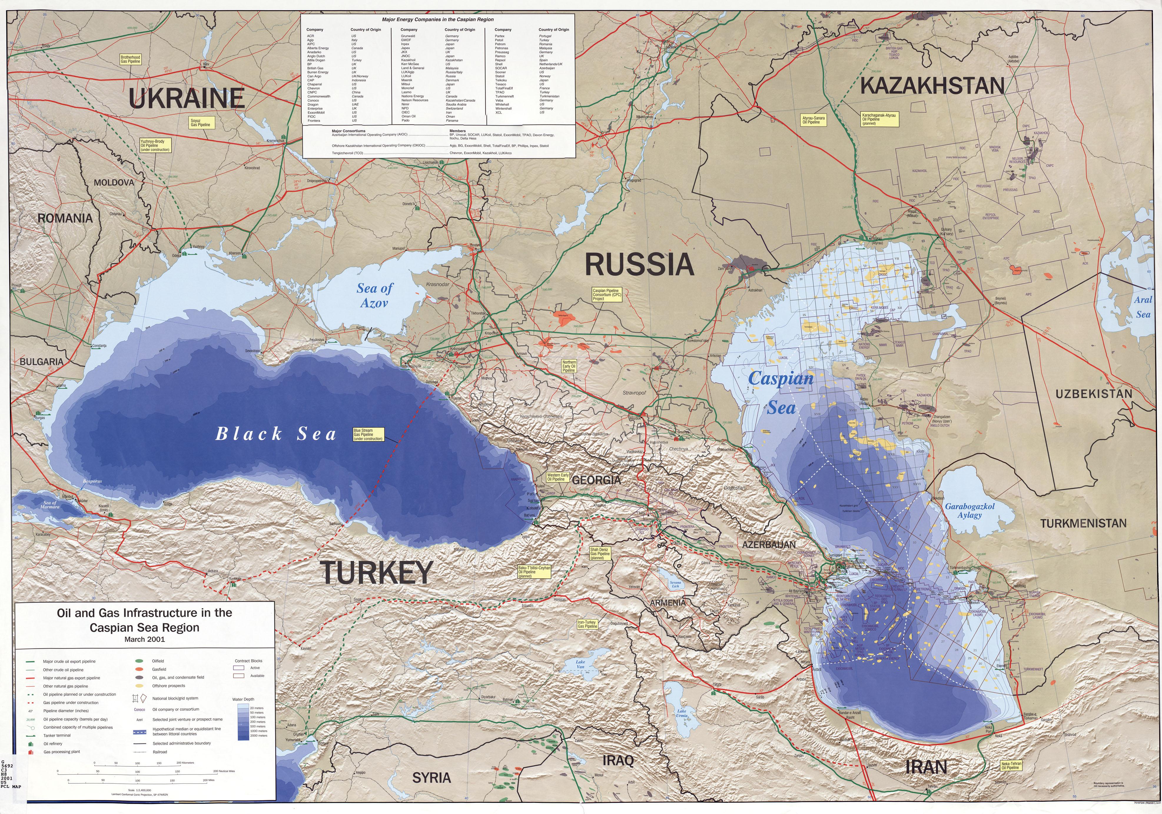 Iran Maps & Charts